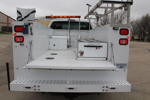 2008 Ford F250 XLT SRW Service Utility Contractor Work Truck W/ Ladder Rack Irving, Texas 7