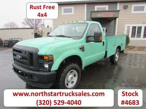 2008 Ford F-350 4x4 Reg Cab Service Utility Truck  in St Cloud, MN