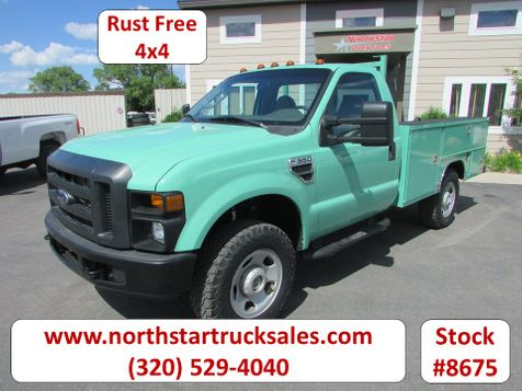 2008 Ford F-350 4x4 Reg Cab Utility Truck  in St Cloud, MN
