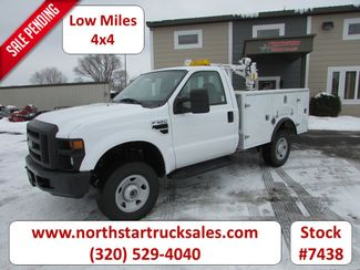 2008 Ford F-350 4x4 Service Utility Truck in St Cloud, MN
