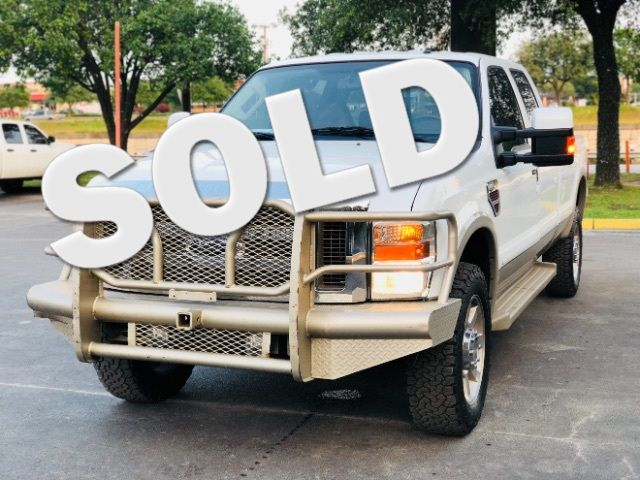 2008 Ford F-350 SD Crew Cab King Ranch 4WD