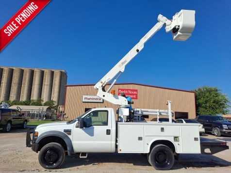 2008 Ford F-450 35' ALTEC 4X4 TELESCOPIC INSULATED BUCKET TRUCK in Fort Worth, TX