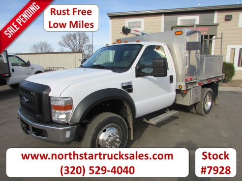 2008 Ford F-450 4x2 Reg Cab Flatbed Truck  in St Cloud, MN