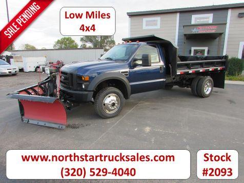 2008 Ford F-450 4x4 Dump Plow Truck  in St Cloud, MN