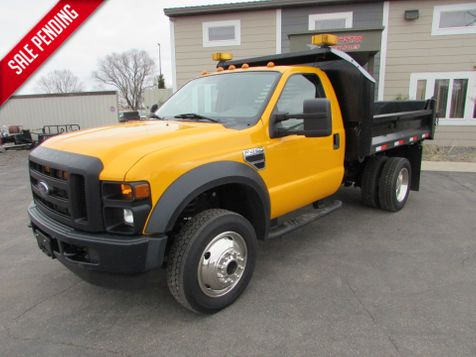2008 Ford F-450 4x4 Reg Cab W/9' Contractor Dump  in St Cloud, MN