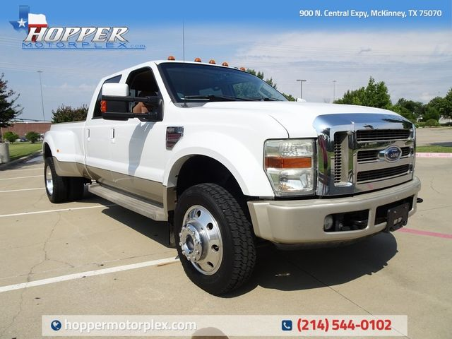 2008 Ford F-450SD King Ranch DRW