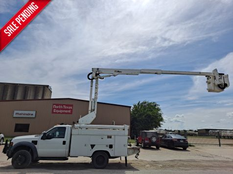 2008 Ford F-550 4X4 42' ALTEC ARTICULATING & TELESCOPIC BUCKET TRUCK in Fort Worth, TX