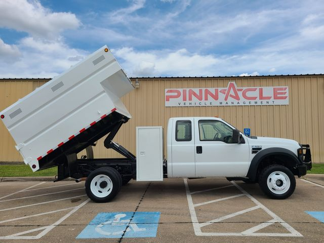 2008 Ford F-550 4X4 CHIPPER DUMP TRUCK EXT CAB 6.8 GAS XL F550 FORESTRY DUMP BED EXT CAB