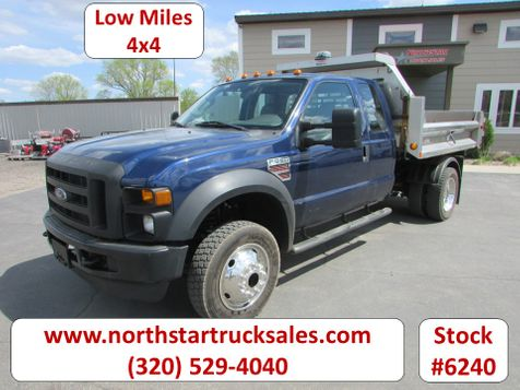 2008 Ford F-550 4x4 Ext-Cab Dump Truck  in St Cloud, MN