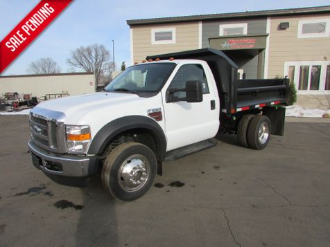 2008 Ford F-550 4x4 Reg-Cab W/New 9' Contractor Dunp  in St Cloud, MN