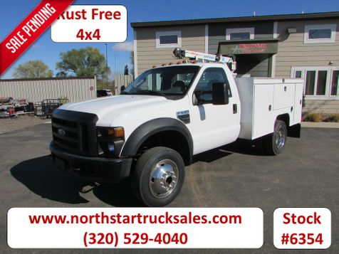 2008 Ford F-550 4x4 with 3203 Auto-Crane Utility Truck  in St Cloud, MN