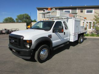 2008 Ford F-550 4x4 Ex Cab 12 Flat Bed   St Cloud MN  NorthStar Truck Sales  in St Cloud, MN
