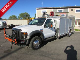 2008 Ford F-550 4x2 Sign Truck IMT 3200 Crane in St Cloud, MN
