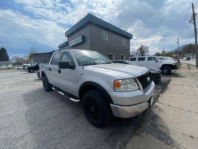 2008 Ford F150 4WD Supercrew XLT 5 1/2