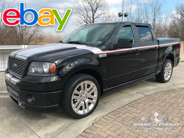 2008 Ford F150 Foose Edition SUPERCHARGED 5.4L V8 ONLY 59K MILES 2-OWNER ROUSH