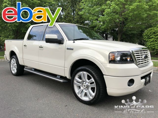 2008 Ford F150 Limited #71 CREW 5.4L V8 107K MILES NAVIGATION DVD 4X4