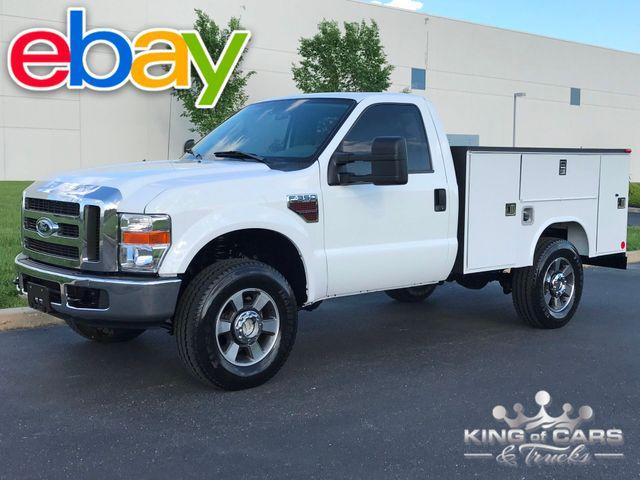 2008 Ford F350 4x4 6.4l Diesel RCAB READING UTILITY 96K MILES 1-OWNER