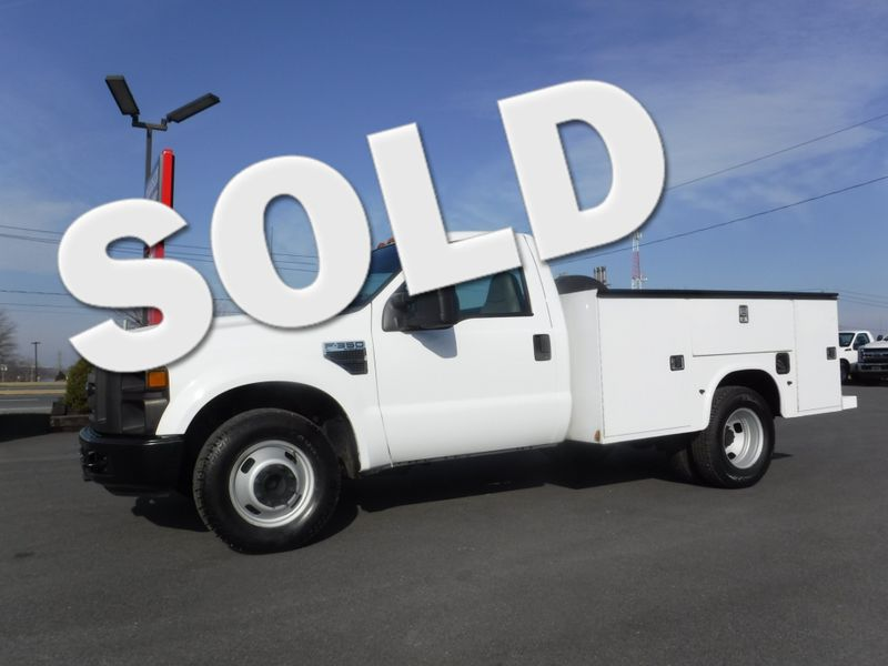 2008 Ford F350 Regular Cab 9FT Utility 2wd in Ephrata PA