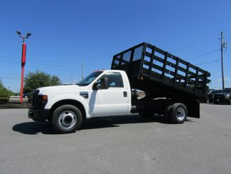 2008 Ford F350 12' Flatbed Stake Body Dump 2wd in Lancaster, PA, PA 17522