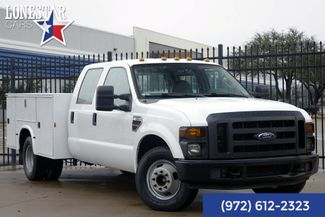 2008 Ford F350SD XL Diesel Utility Bed Crew Cab 33 Service Records in Plano Texas, 75093