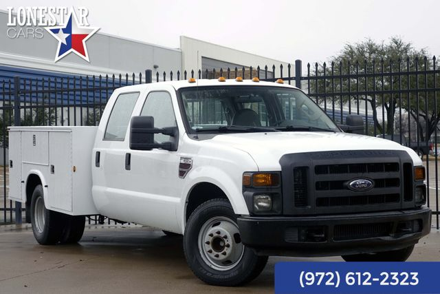 2008 Ford F350SD XL Diesel Utility Bed Crew Cab 33 Service Records