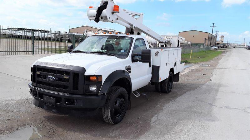 2008 Ford F450 40FT ETI BUCKET BOOM SYSTEM PWR STROKE DIESEL  city TX  North Texas Equipment  in Fort Worth, TX
