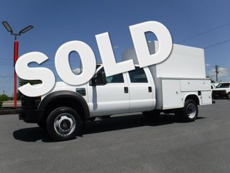 2008 Ford F450 Crew Cab 9' Enclosed Utility 4x4 in Lancaster, PA PA