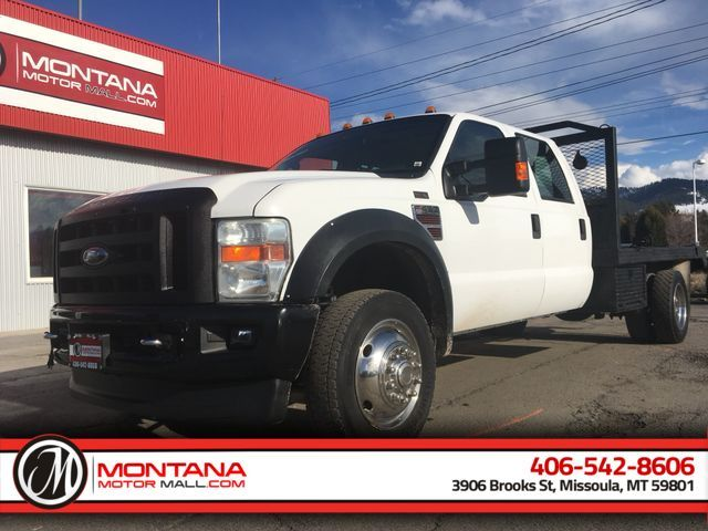 """2008 Ford F450 Super Duty Crew Cab & Chassis 176"""" W.B. 4D"""