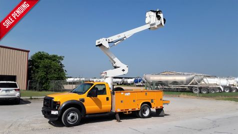 2008 Ford F550 45FT VERSALIFT BOOM / AC BUCKET TRUCK in Fort Worth, TX