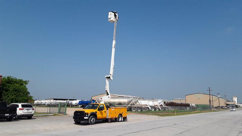 2008 Ford F550 45FT VERSALIFT BOOM  AC BUCKET TRUCK  city TX  North Texas Equipment  in Fort Worth, TX