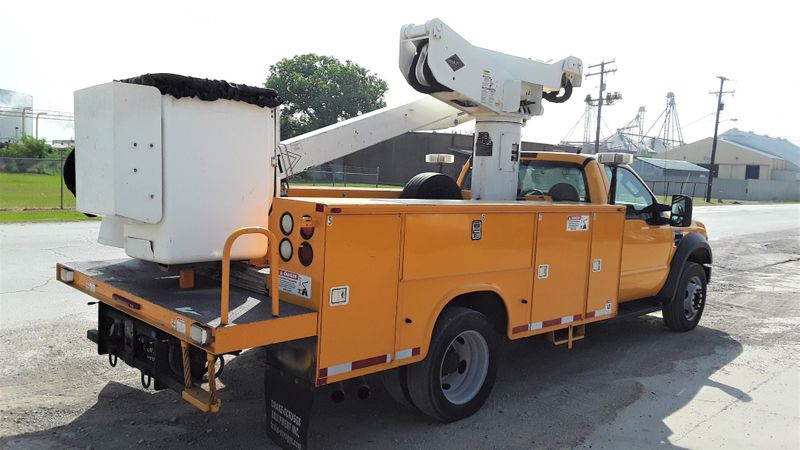 2008 Ford F550 45FT VERSALIFT BOOM  AC BUCKET TRUCK  city TX  North Texas Equipment  in Fort Worth, TX