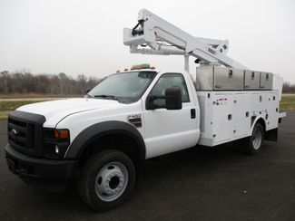 2008 Ford F550 BUCKET BOOM TRUCK 129k Lake In The Hills, IL