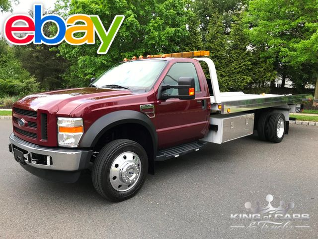 2008 Ford F550 Xlt Chevron ROLLBACK TURBO DIESEL 159K ACTUAL MILES