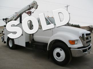 2008 Ford F750 10,000 LBS CRANE TRUCK Lake In The Hills, IL