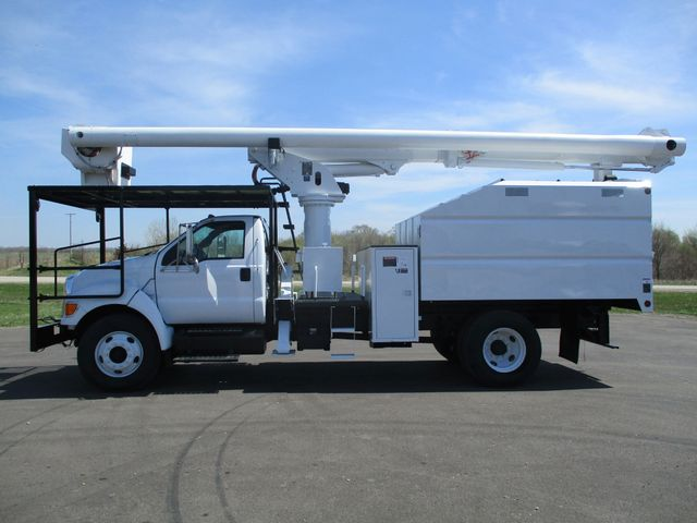 2008 Ford F750 CHIPPER DUMP BUCKET BOOM TRUCK XL Lake In The Hills, IL 1