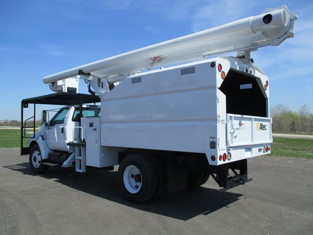2008 Ford F750 CHIPPER DUMP BUCKET BOOM TRUCK XL Lake In The Hills, IL 2