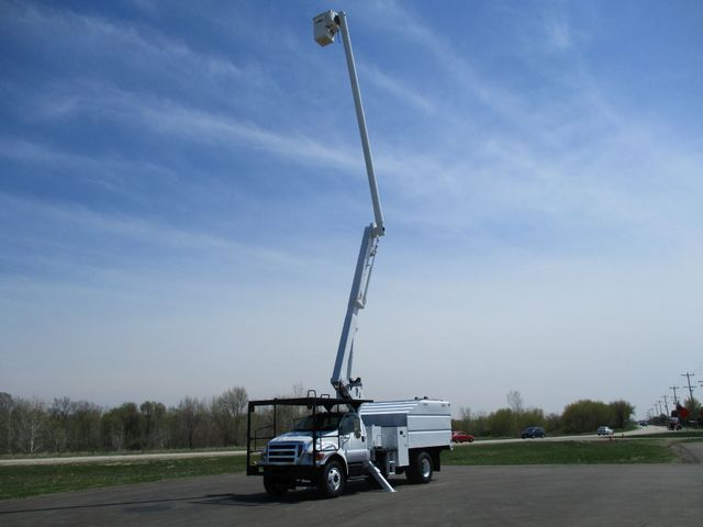 2008 Ford F750 CHIPPER DUMP BUCKET BOOM TRUCK XL Lake In The Hills, IL 32