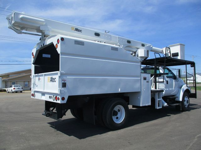 2008 Ford F750 CHIPPER DUMP BUCKET BOOM TRUCK XL Lake In The Hills, IL 4