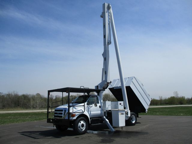 2008 Ford F750 CHIPPER DUMP BUCKET BOOM TRUCK XL Lake In The Hills, IL 36