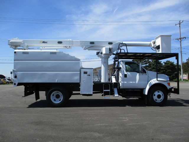 2008 Ford F750 CHIPPER DUMP BUCKET BOOM TRUCK XL Lake In The Hills, IL 5