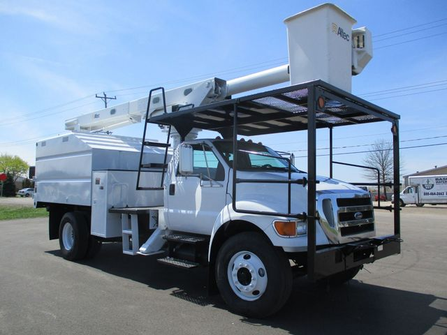 2008 Ford F750 CHIPPER DUMP BUCKET BOOM TRUCK XL Lake In The Hills, IL 6