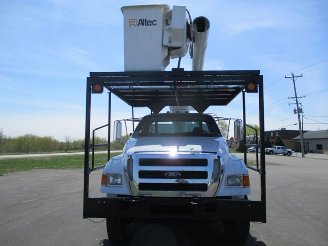 2008 Ford F750 CHIPPER DUMP BUCKET BOOM TRUCK XL Lake In The Hills, IL 7