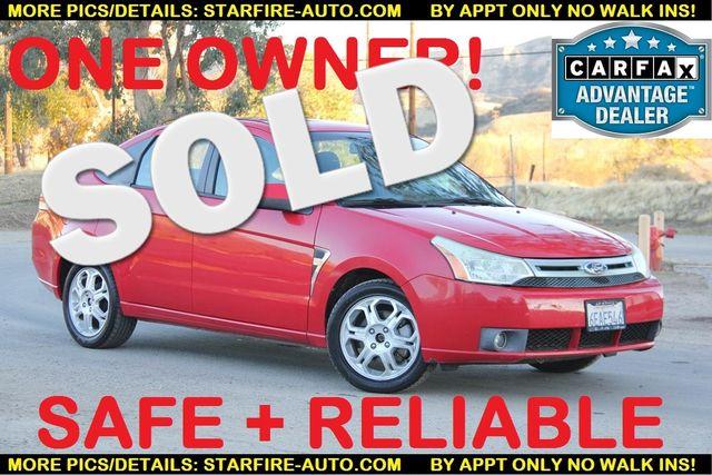 2008 Ford Focus SES Santa Clarita, CA 0