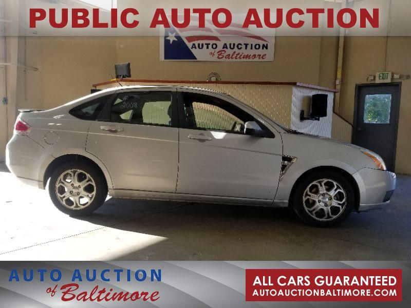 2008 Ford FOCUS SEL    JOPPA, MD   Auto Auction of Baltimore  in JOPPA MD