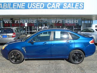 2008 Ford FOCUS SES   Abilene TX  Abilene Used Car Sales  in Abilene, TX