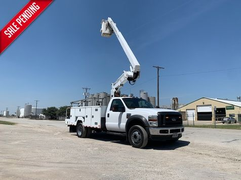 2008 Ford  F550 BUCKET TRUCK  42 FOOT REACH TELESCOPIC & ARTICULATING RUNS GREAT in Fort Worth, TX