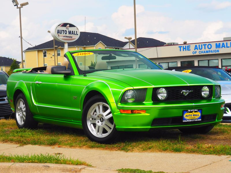 2008 Ford Mustang Gt Premium Champaign Illinois The Auto Mall Of In