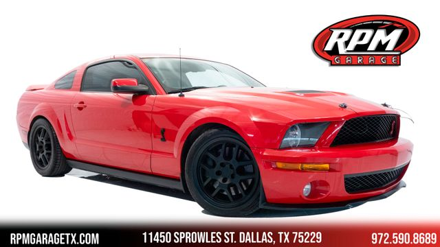 2008 Ford Mustang Shelby GT500 with Many Upgrades