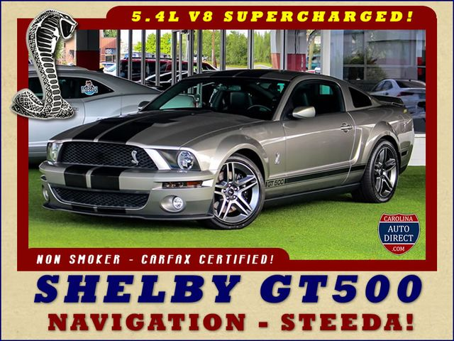 2008 Ford Mustang Shelby GT500 - SUPERCHARGED - NAV - HID HEADLIGHTS Mooresville , NC 0