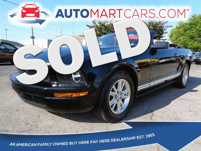 2008 Ford Mustang Deluxe in Nashville, Tennessee 37211